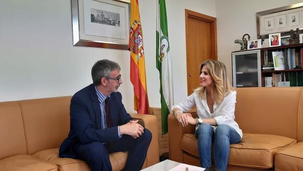 Mestre y Piniella reunidos en la Junta