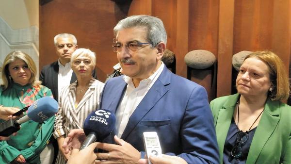 Román Rodríuez, portavoz parlamentario de NC