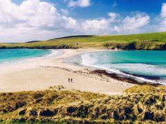 Islas de Shetland en Escocia (Reino Unido)