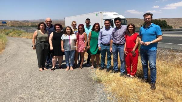 PSOE exige la reforma del acceso de Purullena desde la A-92