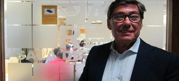 El Presidente Del PAR, Arturo Aliaga.
