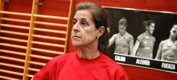 Carolina Marín envejece con FaceApp