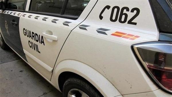 Coche de guardia civil