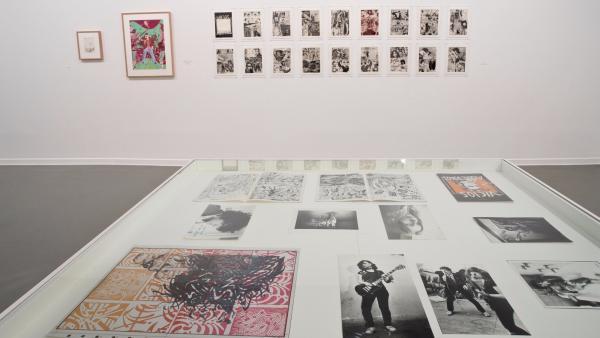 Parte de la exposición 'Vicios Modernos. Ceesepe 1973-1983'.