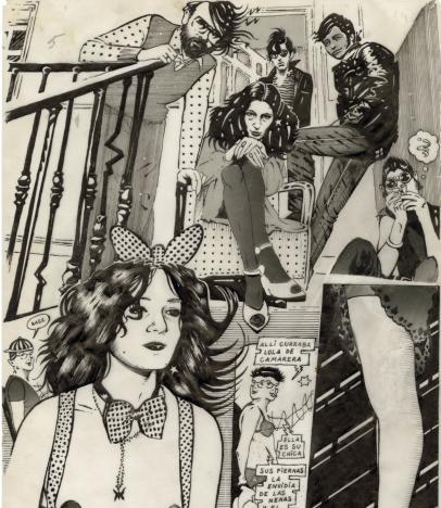 Ceesepe. Vicios modernos, 1978.