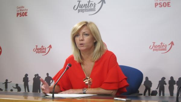 La diputada regional del PSOE Ana Isabel Abengózar