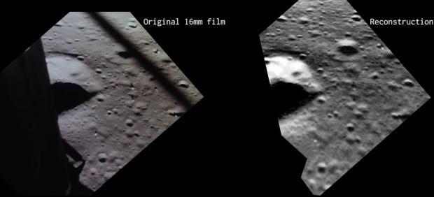 Un nuevo vídeo de la NASA muestra lo que Aldrin vió al llegar a la Luna