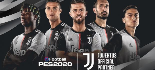 La Juve de Cristiano firma por 'PES 2020'