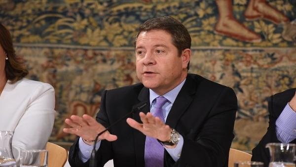 El presidente regional, Emiliano García-Page