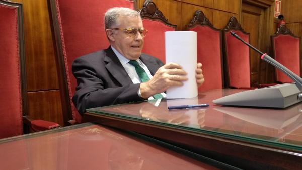 El presidente del Tribunal Superior de Justicia de Asturias (TSJA),  Ignacio Vidau.