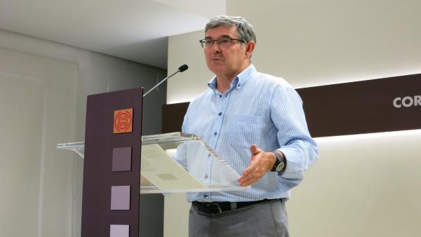 El portavoz del PSOE en las Cortes de Aragón, Vicente Guillen.