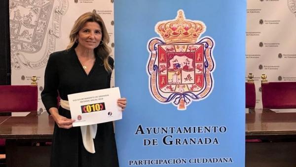 La concejala de Participación Ciudadana, Eva Martín.