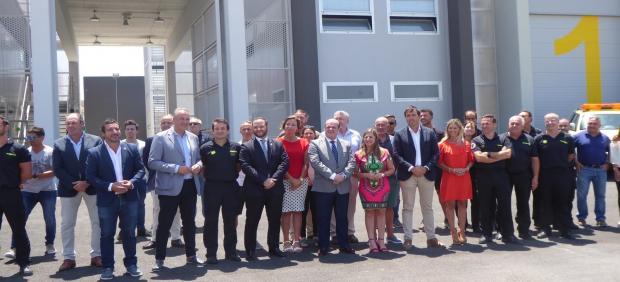 Inauguración parque de bomberos de Tarifa