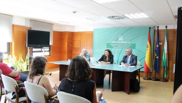 La delegada de Turismo, Regeneración, Justicia y Administración Local de la Junta en Huelva, María Ángeles Muriel.