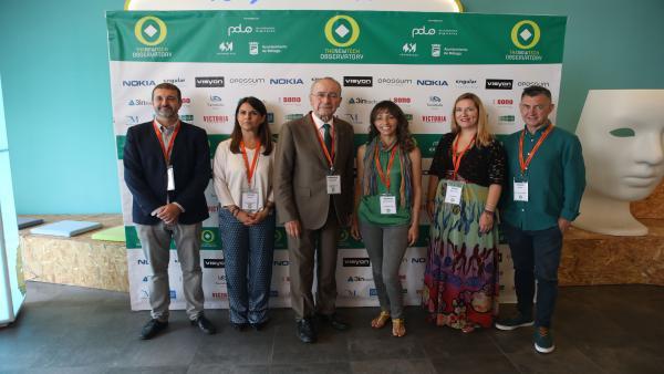 Acto de inauguración del observatorio de nuevas tecnologías de Málaga