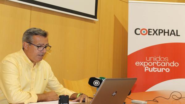 El gerente de Coexphal, Luis Miguel Fernández