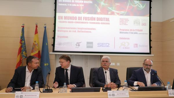 Puig anuncia una estratègia específica d'intel·ligència artificial i demana el suport de la UE