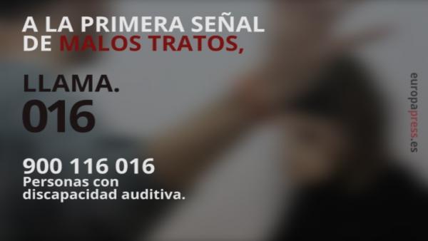 Teléfono 016 de atención a víctimas de violencia de género y maltrato