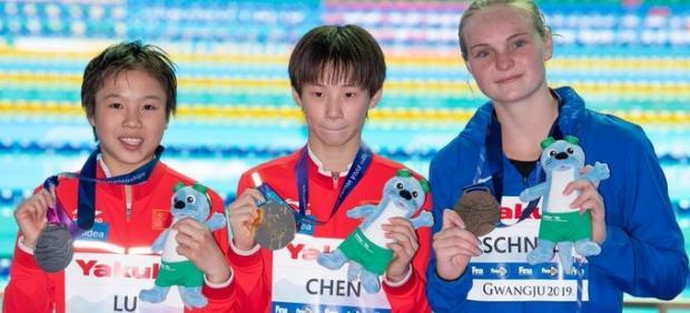 Yuxi Chen y Wei Lu campeonas del mundo de 13 años