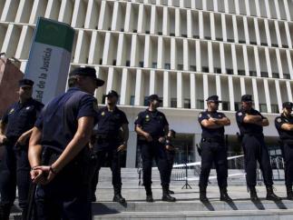 Imagen de la Audiencia Provincial de Málaga