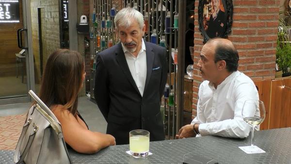 Ana María y Tino, en 'First dates'.