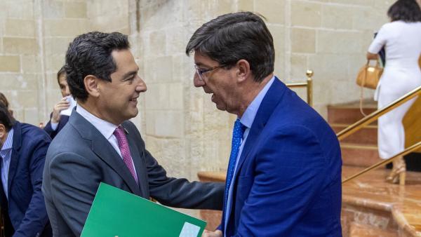 Debate final de presupuestos de Andalucía
