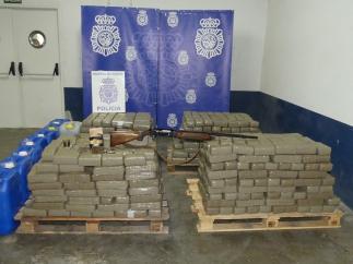 'La Policía Nacional Se Incauta En Huelva De Una Tonelada De Hachís Y Cinco Embarcaciones'