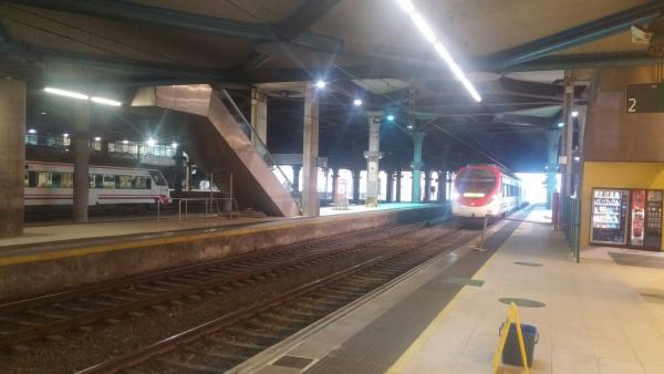 Estación de Renfe de Oviedo.