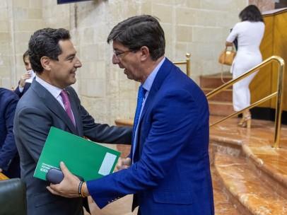 Debate final presupuestos para 2019 en Parlamento de Andalucía