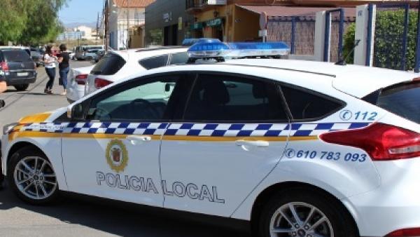 Un coche de Policía Local de Huércal-Overa