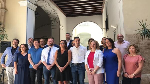 Maria Josep Amigó, Rafa García i Carlos Fernández Bielsa, vicepresidents de la Diputació