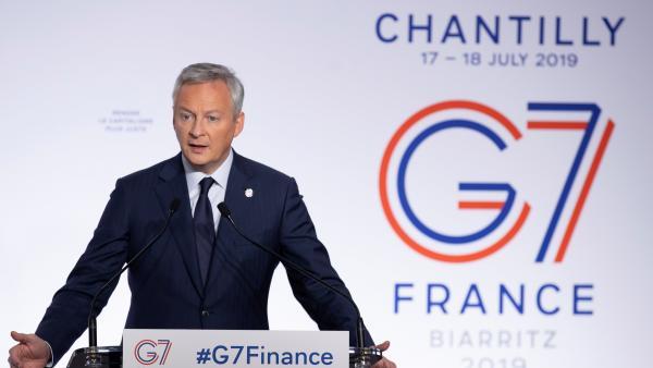 Bruno Le Maire, ministro de finanzas de Francia