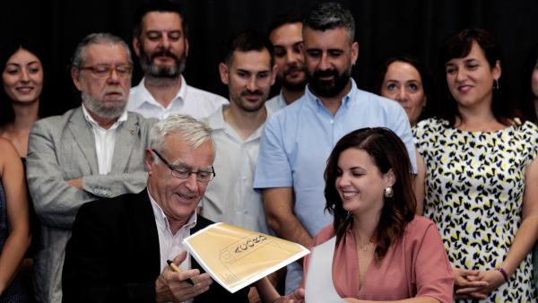 Firma del Acuerdo del Rialto