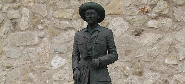 Estatua de Franco en Melilla