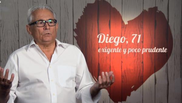 Diego, en 'First dates'.