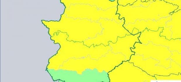 Alertas viernes 19 de julio en Extremadura