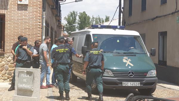 Detención del alcalde de Fontanar (Guadalajara).