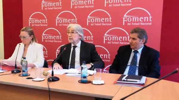 El president de Foment del Treball, Josep Sánchez Llibre.