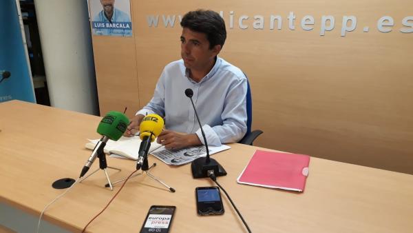Carlos Mazón, triat nou president de la Diputació d'Alacant