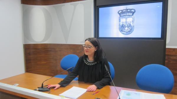 La concejala del PP de Oviedo Covadonga Díaz