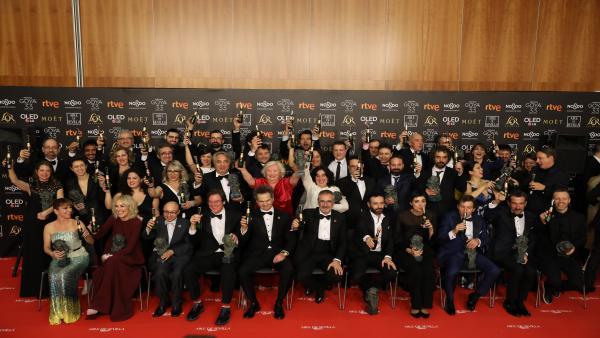 Premiados en los Goya 2019