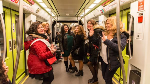 Metrovalencia reforça el servei nocturn per a facilitar el desplaçament a la GranNit