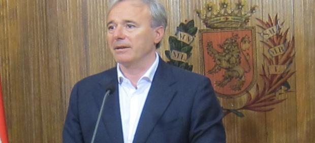 El alcalde de Zaragoza, Jorge Azcón