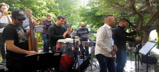 Concierto de jazz en el Parque Central