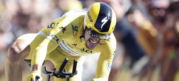 Julian Alaphilippe gana la crono del Tour de Francia