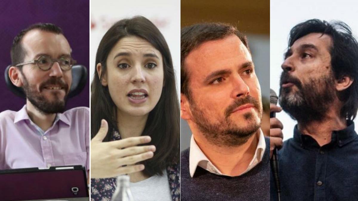 Los nueve nombres de Podemos que más suenan para un gobierno con el PSOE