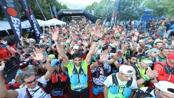 Salida del Maratón de las Tucas 2019.