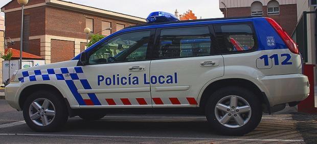 Un vehículo de la Policía Local.