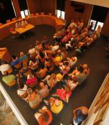 Reunión en el Ayuntamiento de Blanes
