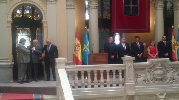 Acto de investidura de Adrián Barbón.